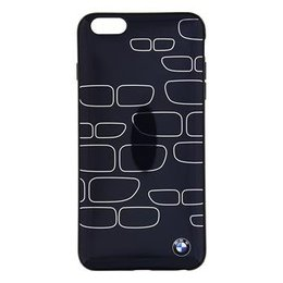 BMW iPhone 6 Plus / iPhone 6S Plus Back Cover Hoesje Zwart