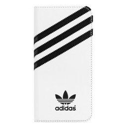 Adidas Originals Booklet Case voor Apple iPhone 6 / 6S Wit / Zwart