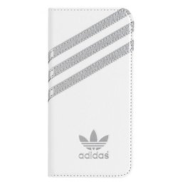 Adidas Originals Booklet Case voor Apple iPhone 6(S) Plus Wit