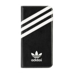 Adidas Originals Booklet Case voor Galaxy S6 Zwart / Wit