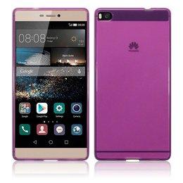 Huawei Ascend P8 0.5MM Zwart Hoesje Roze