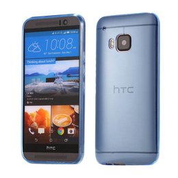HTC One M9 0.5MM Dun Hoesje Blauw