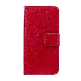 Apple iPhone 5C Book Case Portemonnee Hoesje Rood