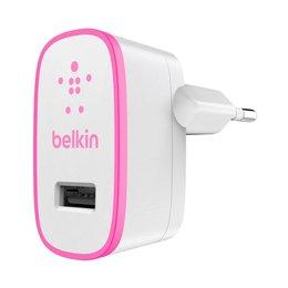 Belkin USB Thuislader Adapter 2.1 AMP Wit / Roze