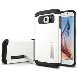 Spigen Slim Armor Case voor Samsung Galaxy S6 - Shimmery White