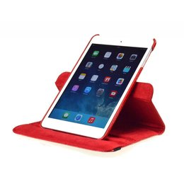 Apple iPad Mini 360 Rotating Case Croco Rood