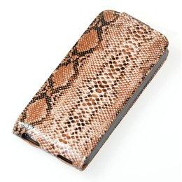 Flip Case Snake iPhone 5 / 5S - Bruin