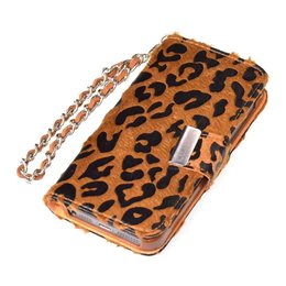 Kalaideng iPhone 5 / 5S Leopard Series Wallet - Bruin