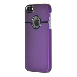 Apple iPhone 5 / 5S / SE Back Cover Case Mat Paars