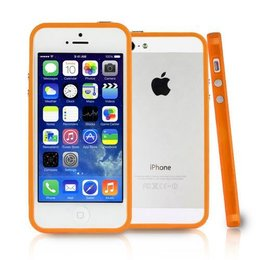 iPhone SE / 5 / 5S Bumper Case Oranje