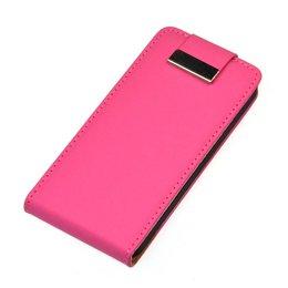 iPhone 5 / 5S / SE Flip Case Roze