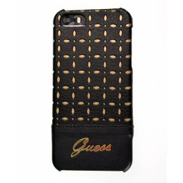 GUESS iPhone SE / 5 / 5S Collection Back Cover Case Gianina Zwart