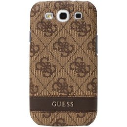 GUESS Galaxy S3 Back Case Bruin