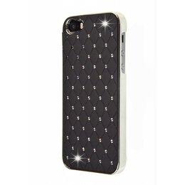 iPhone SE / 5 / 5S Bling Bling Back Cover Zwart