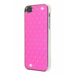 iPhone SE / 5 / 5S Bling Bling Back Cover Roze
