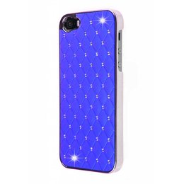 iPhone SE / 5 / 5S Bling Bling Back Cover Donker Blauw