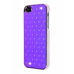 iPhone SE / 5 / 5S Bling Bling Back Cover Paars