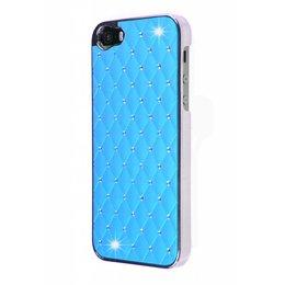 iPhone SE / 5 / 5S Bling Bling Back Cover Blauw