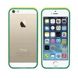 Colorfone iPhone SE / 5 / 5S TPU Bumper Case Geel / Groen