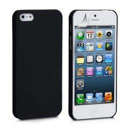 iPhone 5 / 5S Hard Case Hoesje Zwart