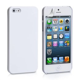 iPhone 5 / 5S / SE Hard Case Hoesje Wit
