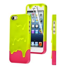 iPhone 5 / 5S / SE iCe Cream Hoes Groen/Roze