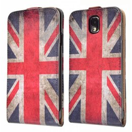 Vintage Galaxy Note 3 Vintage Flip Cover Case UK