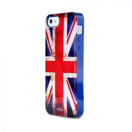 Puro iPhone 5 / 5S / SE Flag Cover Hoesje UK