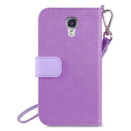 Belkin Samsung Galaxy S4 Sartorial Wristlet Wallet Case Paars