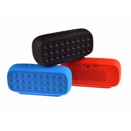 Cube Wireless Bluetooth Speaker met FM Radio