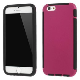 Apple iPhone 6 / 6S TPU Full Body Cover Case Roze