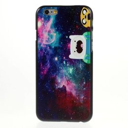 Apple iPhone 6 / 6S Cartoon Color Galaxy Back Cover Case