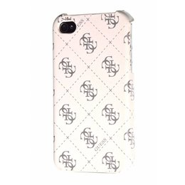 GUESS Back Hard Case iPhone 4 / 4S Wit
