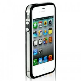 iPhone 4 / 4s Bumper Case Zwart