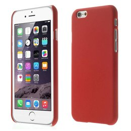 Apple iPhone 6 / 6S Matte Back Cover Case Rood