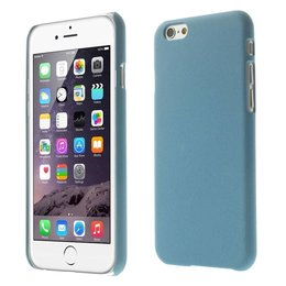 Apple iPhone 6 / 6S Matte Back Cover Case Blauw