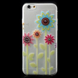 Apple iPhone 6 / 6S TPU Bling Cover Case Sunflower