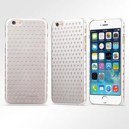 USAMS iPhone 6 / 6S Starry Series Back Cover Case Zilver