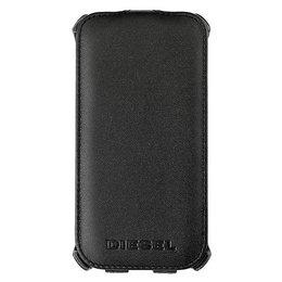 DIESEL Booklet Samsung Galaxy S4 Flip Case Zwart