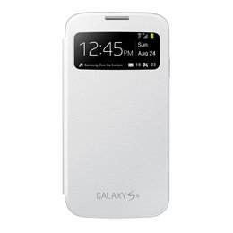 S-View Flip Cover Galaxy S4 - Wit