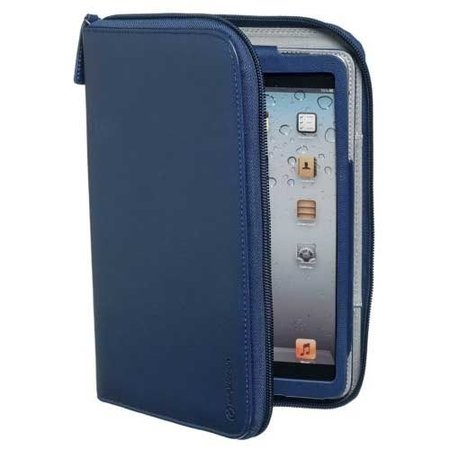 Celly iPad Mini Caffe Kit Book Navy Blue