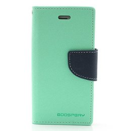 MERCURY iPhone 5 / 5S Wallet Case Portemonnee Turqoise