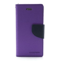 MERCURY iPhone 5 / 5S / SE Wallet Case Portemonnee Paars