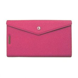 Fenice Slim Book Case Roze voor iPhone 5 / 5S / SE