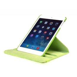 Apple iPad Air 2 Rotating Case Croco Groen