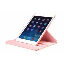 Apple iPad Air 2 Rotating Case Croco Licht Roze