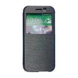 HTC One M8 / M8S S View Hoesje Zwart