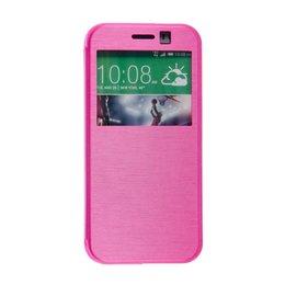 HTC One M8 / M8S S View Hoesje Roze