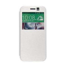 HTC One Mini 2 S View Hoesje Wit