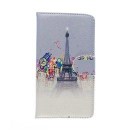 HTC One M8 / M8S Wallet Case Portemonnee Paris Eiffel